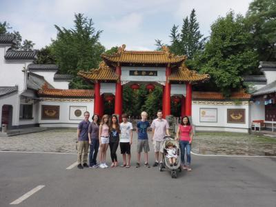 IMA students in China
